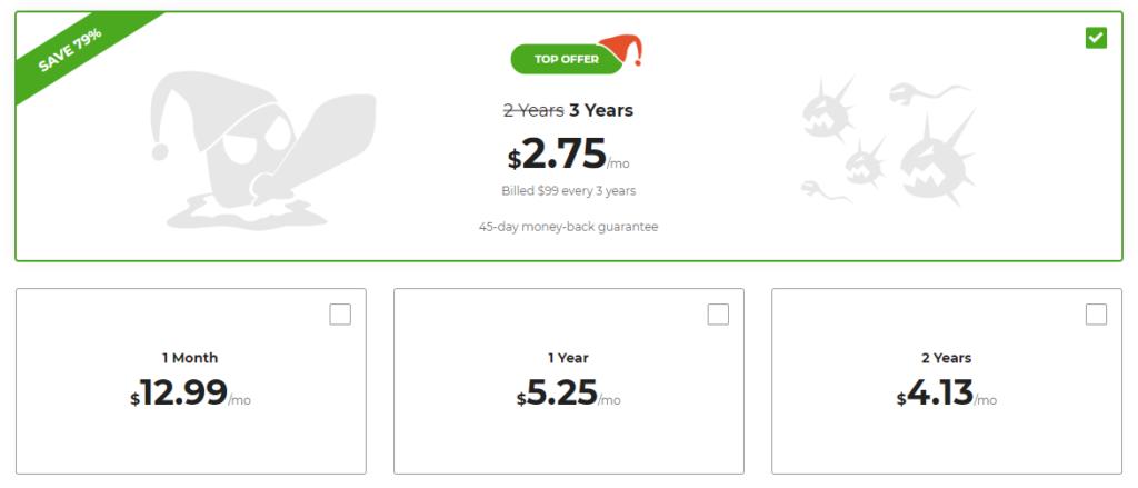 cyberghost priser